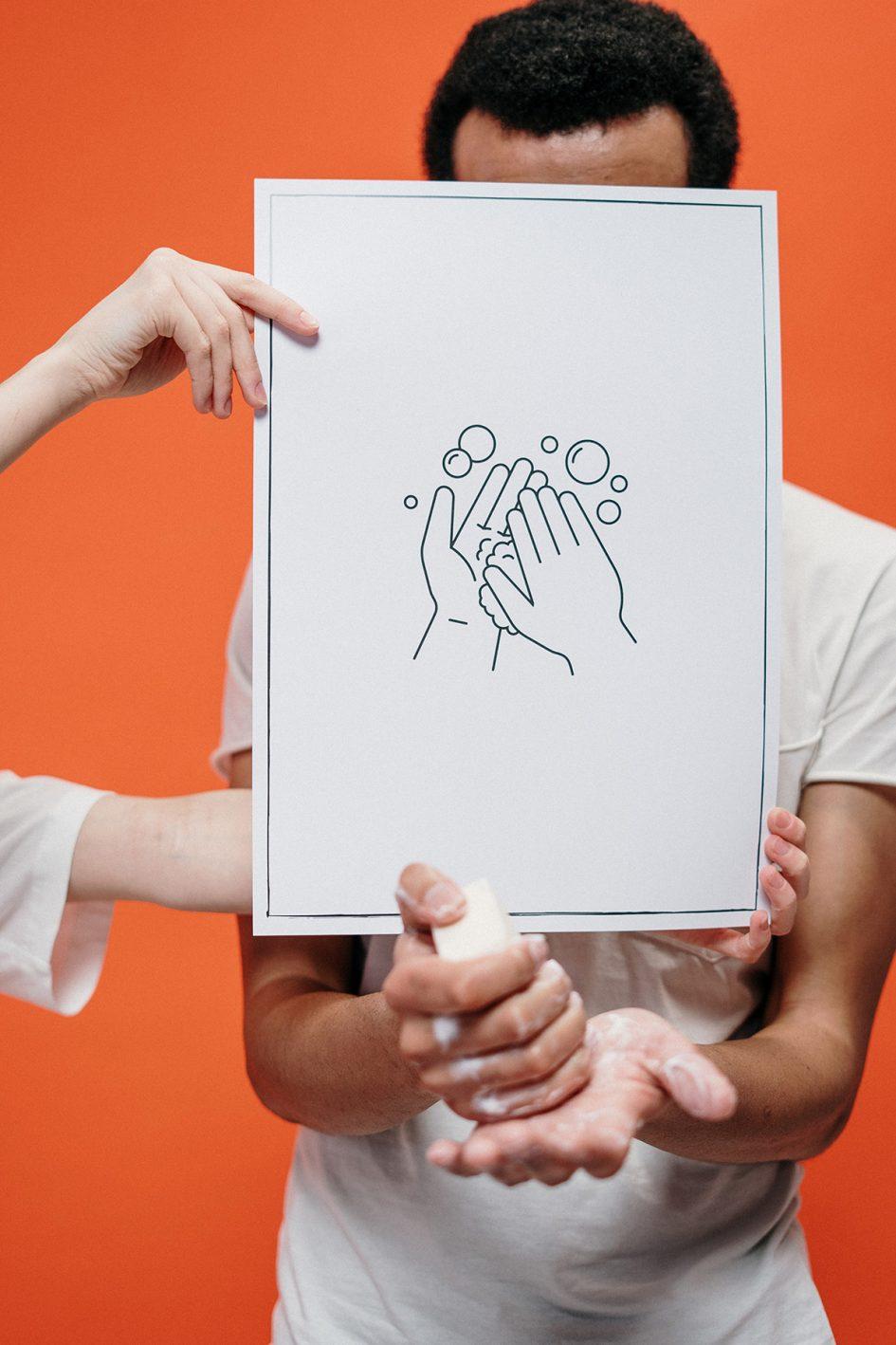 Coronavirus washing hands image